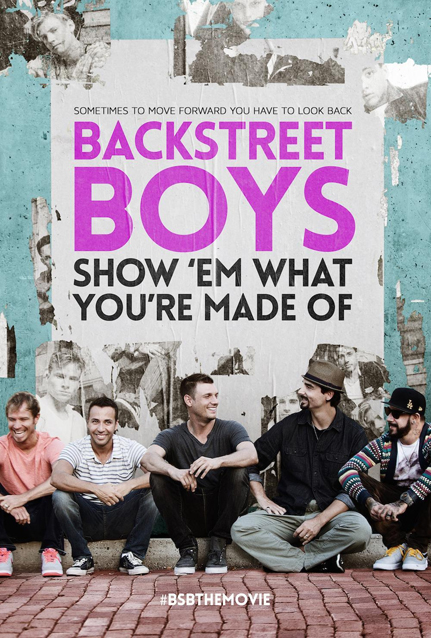 Backstreet Boys Show Em What You're Made Of Poster Directed by Stephen Kijak