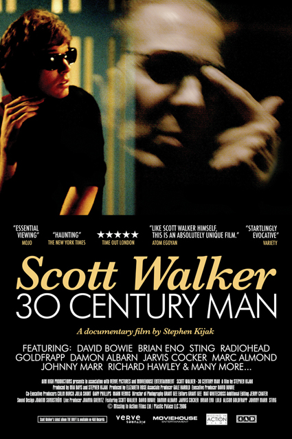 Scott Walker 30 Century Man One Sheet Poster