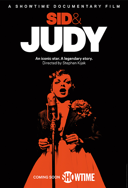 Sid and Judy a Documentary by Stephen Kijak Poster for HBO Showtime